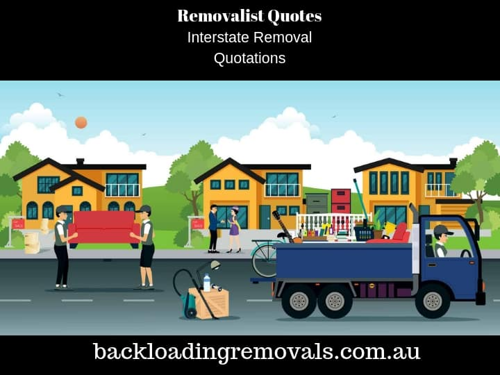 Removalist Quote