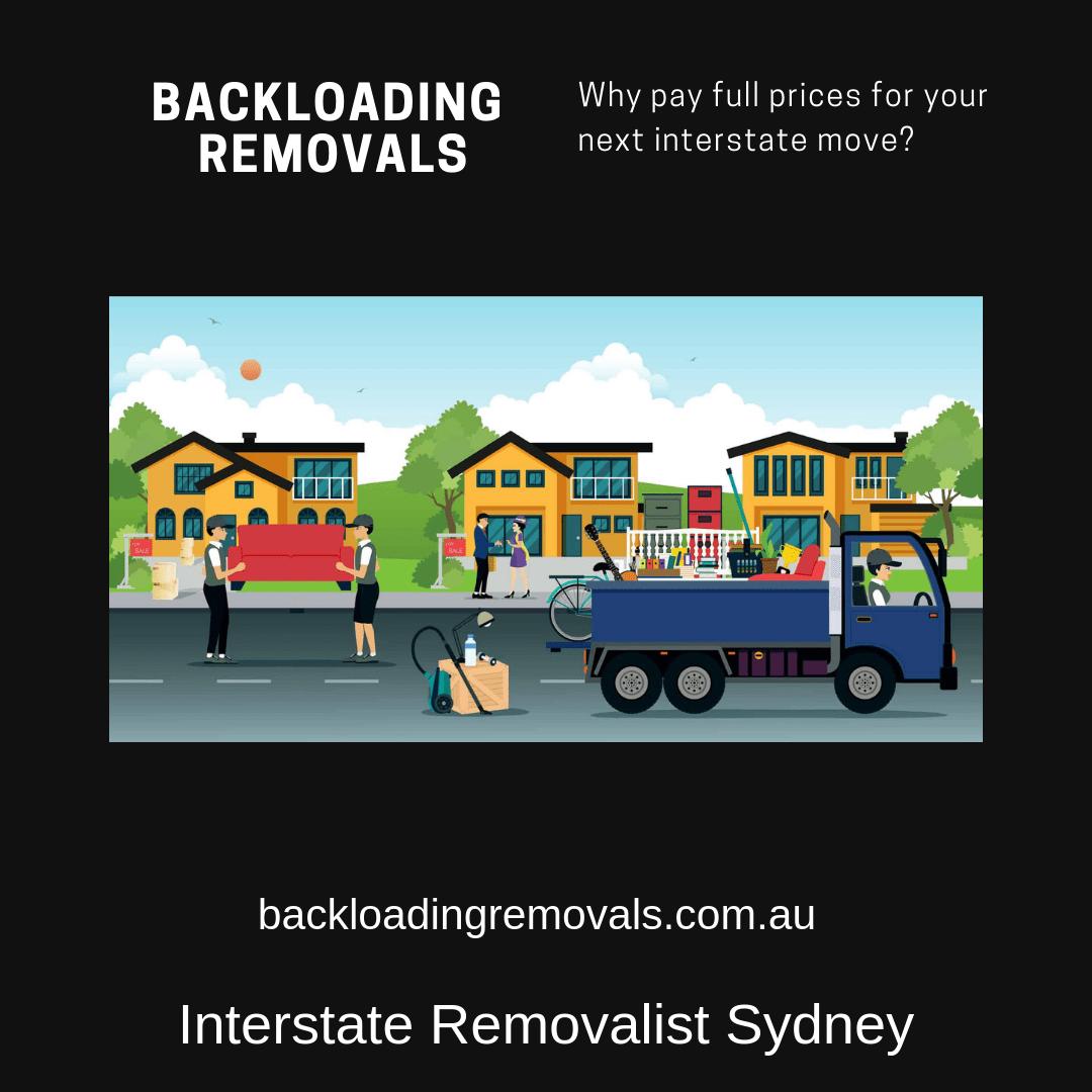 Interstate Moving Sydney