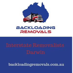 Interstate Removalists Darwin